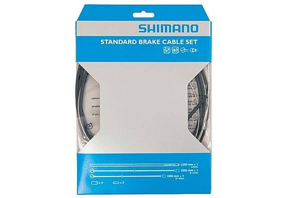 Shimano Road Brake Cable Set - Black