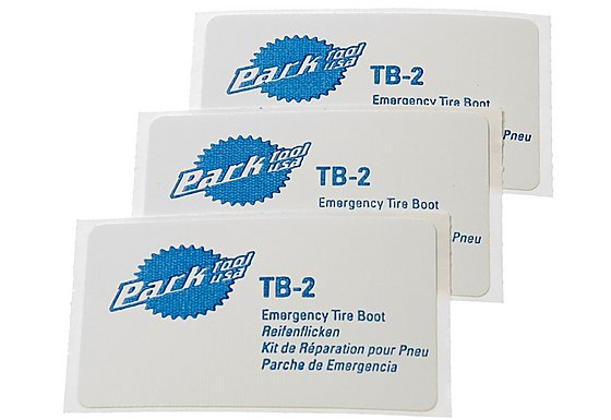 Park Tool TB2C Emergency Tyre Boot Repair Patches - Set Of 3