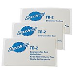 image of Park Tool TB2C Emergency Tyre Boot Repair Patches - Set Of 3
