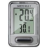 Cateye Velo 7 Wired Bike Computer - Grey