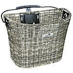 image of New Looxs Lombok Basket, 19 Litres - Rattan Grey