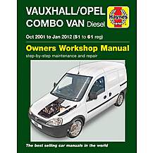 Haynes manuals haynes manual online garage equipment image of vauxhallopel combo van diesel 2001 2012 haynes manual fandeluxe Gallery
