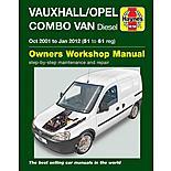 Vauxhall/Opel Combo Van Diesel (2001-2012) Haynes Manual