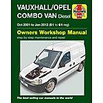 image of Vauxhall/Opel Combo Van Diesel (2001-2012) Haynes Manual