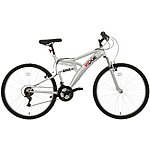 image of Ridge Full Suspension Mens Mountain Bike - 26""