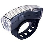 image of Moon M-3W Front Bicycle Light - Silver