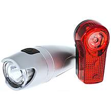 image of Raleigh RX6.0 3W Front and 1/2W Rear Bike Light Set