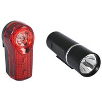 Raleigh 3W Front and 1/2W Rear Bike Light Set