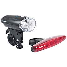 image of RSP LED Front and Rear Black Bike Light Set