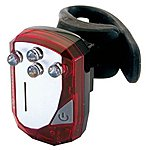 image of Moon Gem 3.0 Rear Bicycle Light - Red
