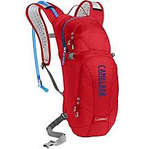 image of Camelbak Lobo Hydration Pack 3L Red/ Blue