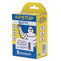 image of Michelin Butyl Presta Bike Inner Tube - 26 x 1.1-1.50