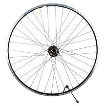 image of Raleigh Pro Build Front Wheel with Disc Hub 700C - Black