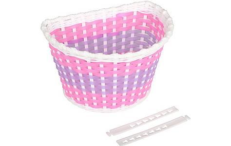 image of Plastic Woven Bike Basket