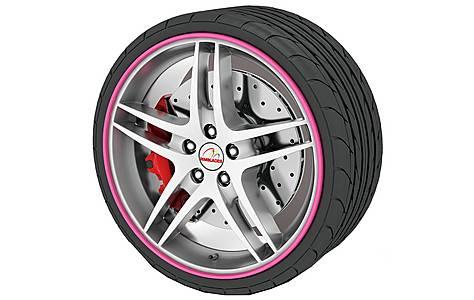image of Rimblades Alloy Wheel Rim Protectors Pink