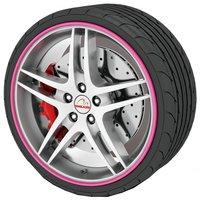 Rimblades Alloy Wheel Rim Protectors Pink