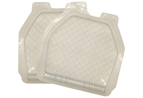 Halfords All Weather Car Mats - Rear Pair