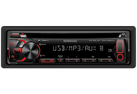 Kenwood KDC-3057UR CD Receiver With USB
