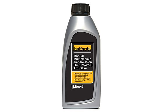 Halfords 75W-90 Fully Synthetic Gear Oil 1L