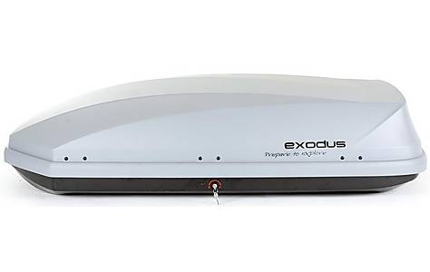 image of Exodus 470L Roof Box Grey