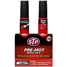 image of STP Pre-MOT Pack For Petrol Engines