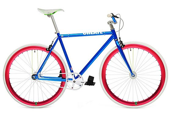 CREATE Original 2013 Blue Fixed Gear Bike - 54cm