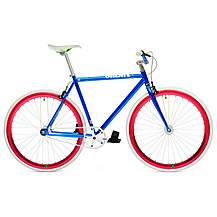 image of CREATE Original 2013 Blue Fixed Gear Bike - 54cm