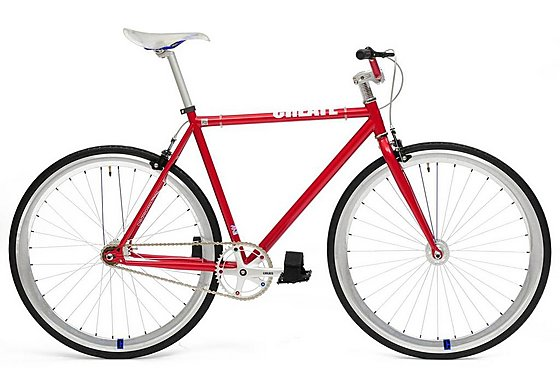 CREATE Original Fixed Gear Bike Red - 59cm