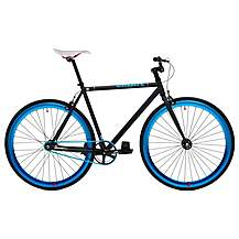 image of CREATE Original Fixed Gear Bike Black and Blue - 54cm