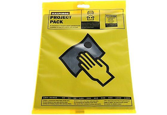 Halfords Project Pack 10 Sheets