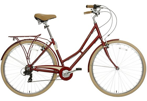 Pendleton Somerby Limited Edition Hybrid Bike Red - 17
