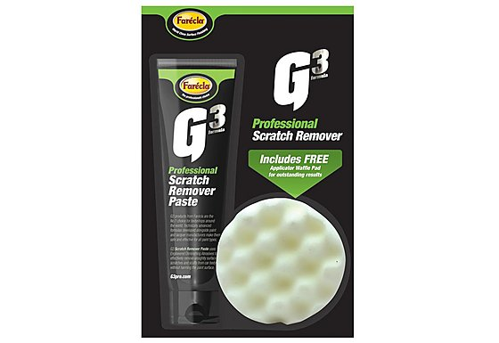 Farecla G3 Scratch Remover and FREE Waffle Pad 150ml