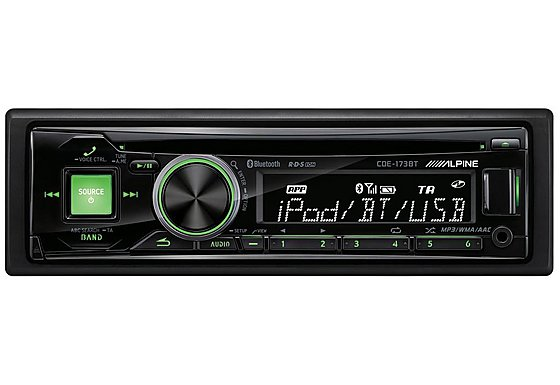 Alpine CDE-173BT Car Stereo with Bluetooth