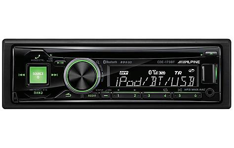 image of Alpine CDE-173BT Car Stereo with Bluetooth