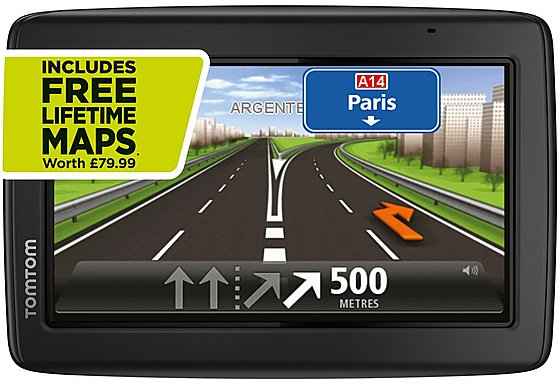 TomTom Start 25M Sat Nav - UK & ROI