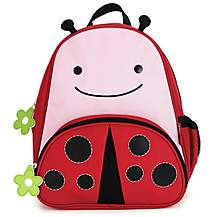 image of Skip Hop Zoopack Backpack Ladybug