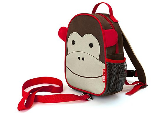Skip Hop Zoo-Let Backpack With Rein Monkey