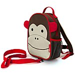 image of Skip Hop Zoo-Let Backpack With Rein Monkey