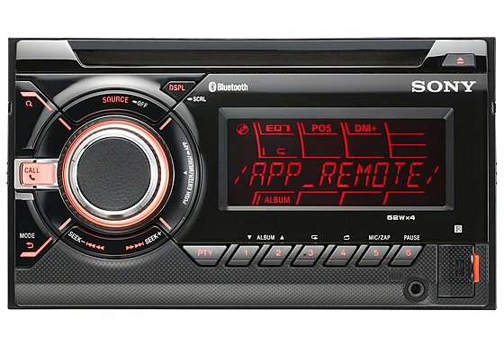 Sony WX-GT90BT 2 Din Bluetooth CD/MP3 Player