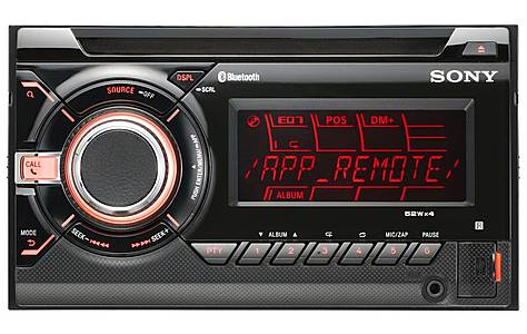 image of Sony WX-GT90BT Double Din Car Stereo