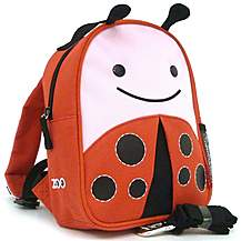 image of Skip Hop Zoo-Let Backpack With Rein Ladybug