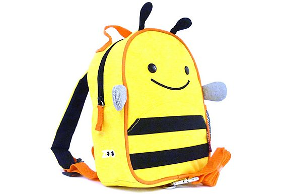 Skip Hop Zoo-Let Backpack With Rein Bee