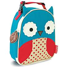 image of Skip Hop Zoo Lunchies Lunch Bag Owl