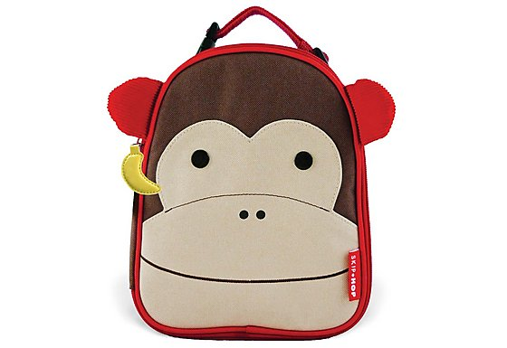 Skip Hop Zoo Lunchies Lunch Bag Monkey
