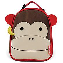 image of Skip Hop Zoo Lunchies Lunch Bag Monkey