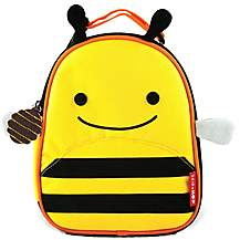 image of Skip Hop Zoo Lunchies Lunch Bag Bee