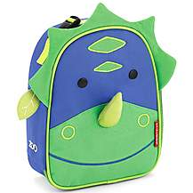image of Skip Hop Zoo Lunchies Lunch Bag Dinosaur
