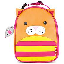 image of Skip Hop Zoo Lunchies Lunch Bag Cat