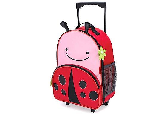 Skip Hop Zoo Luggage Bag Ladybug