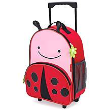 image of Skip Hop Zoo Luggage Bag Ladybug